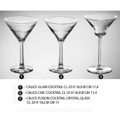 CALICE CHIC COCKTAIL CL 25 H 16,9 Ø CM 11,4 Generico