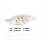 PIATTO VIRGOLA CM 28X14 TOGNANA Party